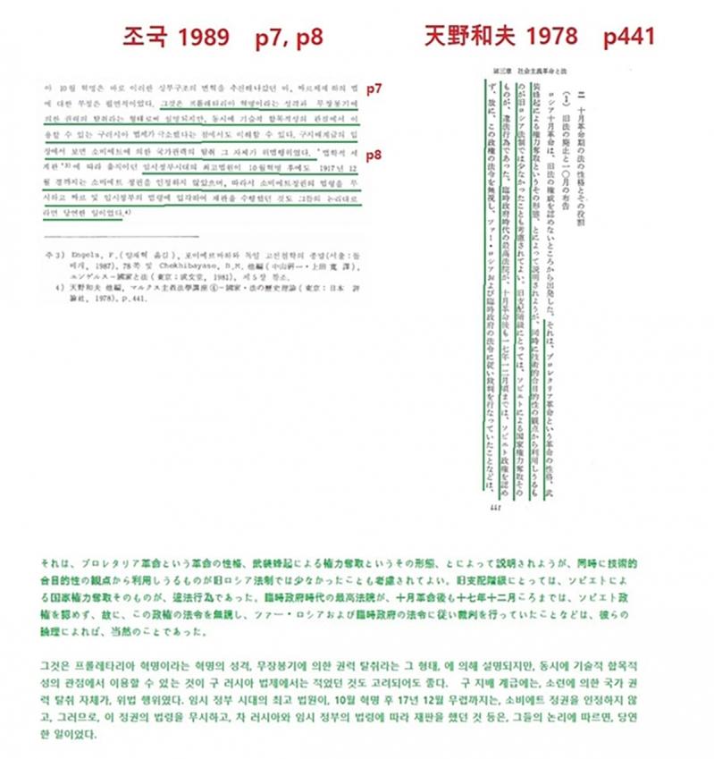 조국 석사 논문