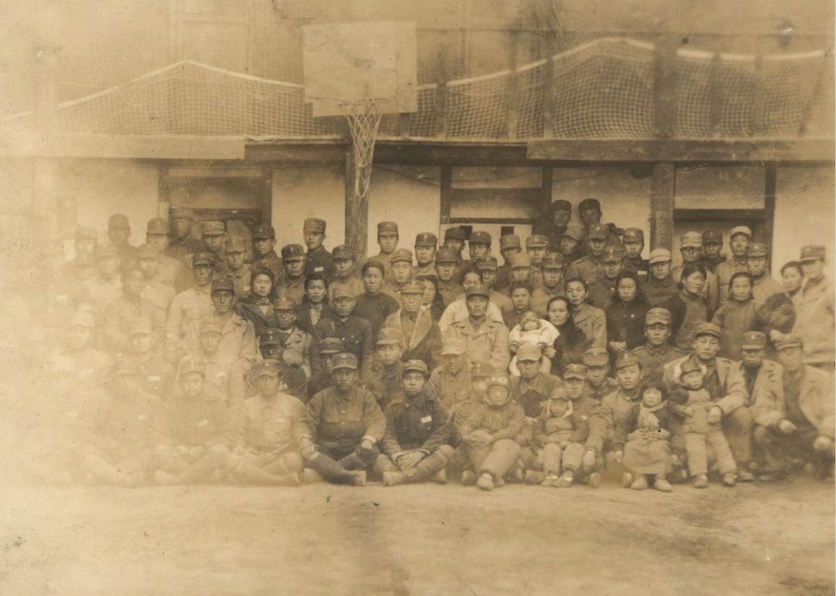 1940년 9월 17일 중국 충칭[重慶]에서 조직된 항일군대. 해체일시 1946년 6월.jpg